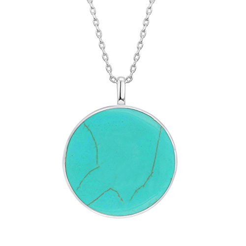 Christmas Tree Life Extender: PAVOI 14K White Gold Plated Tree Of Life Turquoise